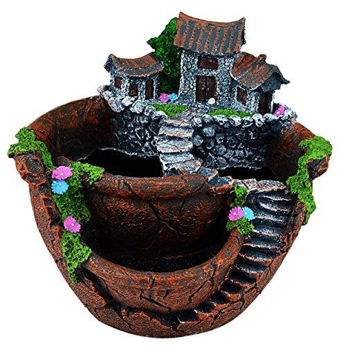 cnomg Pot Creative Plants DIY Container Pot Mini Fairy Garden Flower...