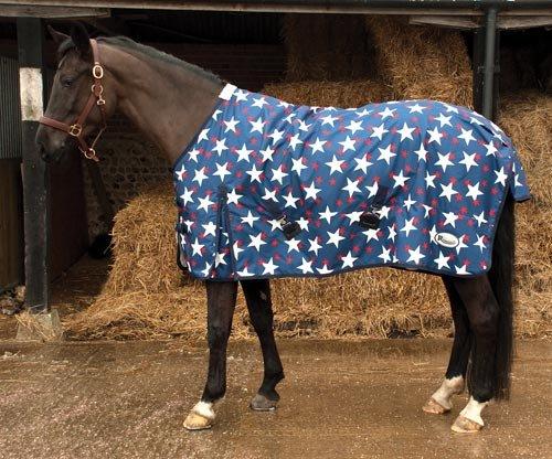 Rhinegold Star Design Torrent Paarden Turnout tapijt