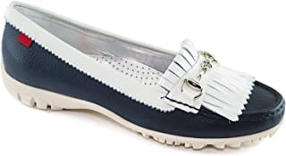 MARC JOSEPH NEW YORK Women`s Golf Leather Made in Brazil Lexington Performance Fashion Shoe Moccasin