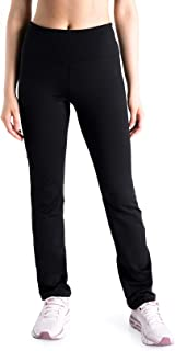 Yogipace Petite/Regular/Tall Women's Water Resistant Fleece Lined Thermal High Rise Straight Leg Slim Fit Active Pants Wor...