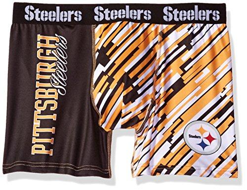 FOCO Pittsburgh Steelers Wordmark Underwear Medium