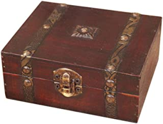 Vintage livre forme bijoux coffre au trésor titulaire cas à la main boîte