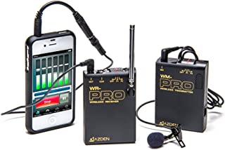 Azden WLX-PRO+i VHF Wireless Microphone System for Smartphones & Tablets