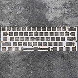 60% Aluminum Mechanical Keyboard Glass Fiber Plate Support gk61 gk61s gh60 only Support Plate Mounted stabilizer (GK61 G Fiber P Only)