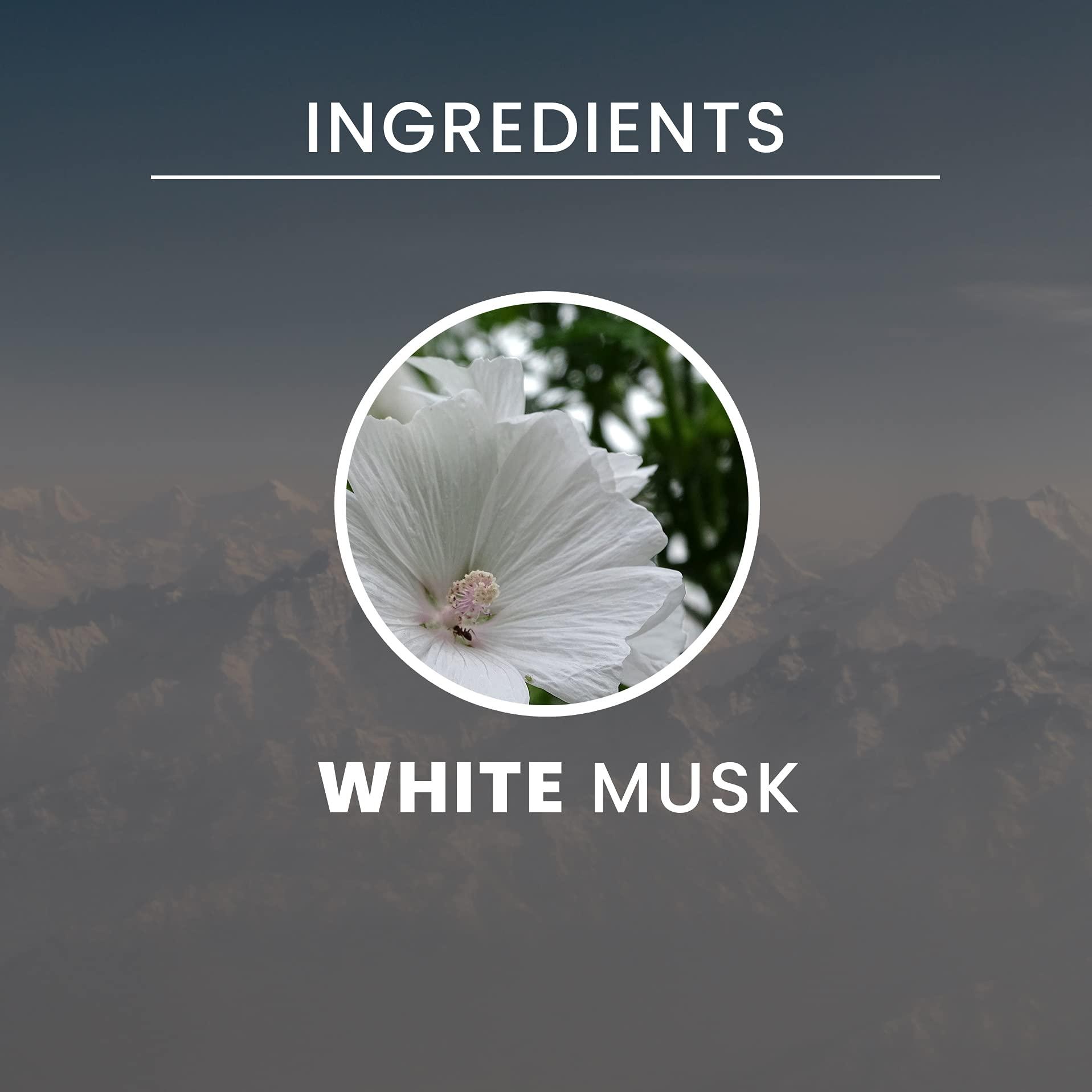 "Tesori d'Oriente:""Muschio Bianco"" White Musk Shower Cream - 250 Ml (8.45us Fl Oz) [ Italian Import ]"