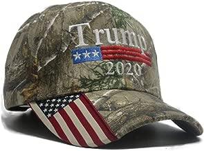 Military Imagine Trump Cap 2020 Keep America Great Realtree Edge US