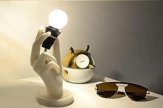 Lampada a forma di mano, Lampada da Tavolo a forma di mano, Lampada da comodino a forma di mano, Lampada di design a forma...