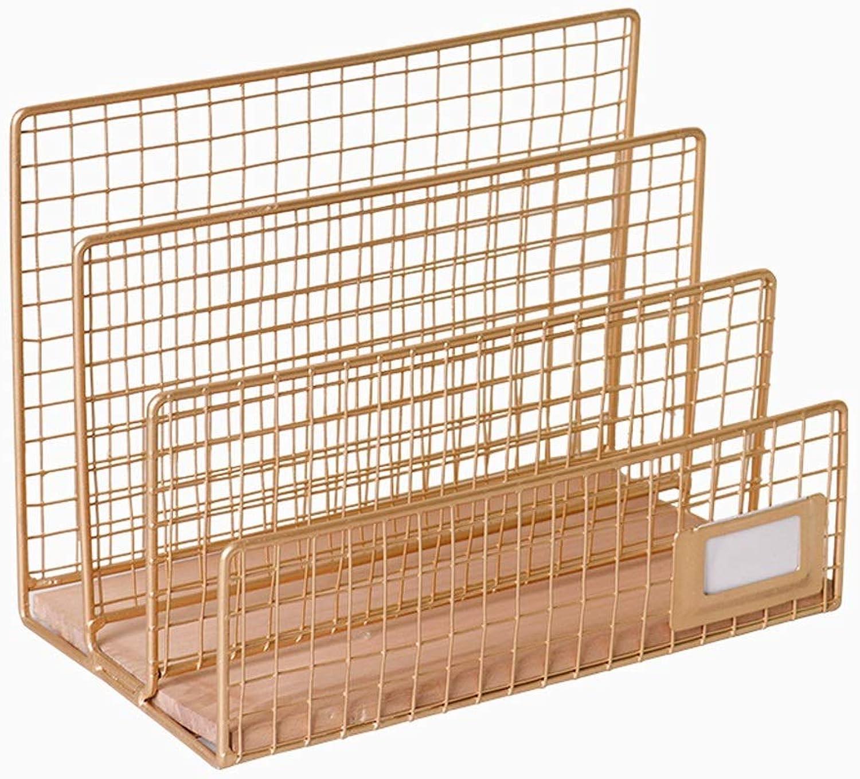 XXHDYR Office Bookshelf Simple Desk Reading Book Book Simple Student Desk Bookshelf 25x15x19cm Bookshelf