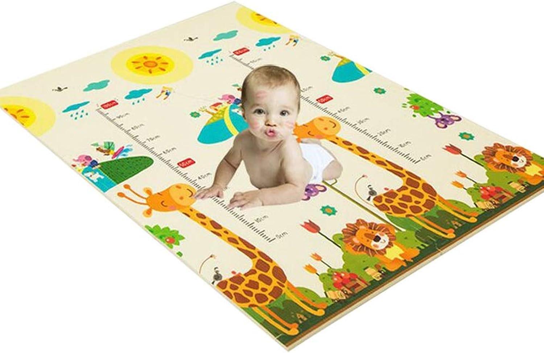 bajo precio HLMIN Doble Lado Estera Estera Estera De Arrastre del Bebé Azulejos Entrelazados con Bordes Piso Animal Suave Impermeable (Color   A, Talla   60cmx60cmx1.5cm-6pcs)  compra limitada