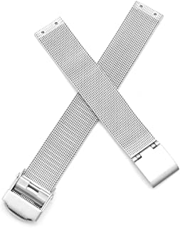 14mm Screwing Stainless Steel Watch Strap Replacement for Skagen Fits Selected Models Listed Below 358SSSBD 358SGSCD 358SRSC 358SSLB