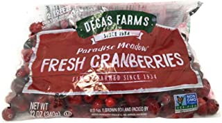 Paradise Meadow Fresh Cranberries, 12 Oz