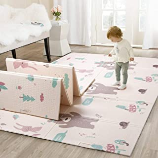 Infant Shining Baby Mat Play Mat Folding Puzzle Playmat Game Pad 200 * 150 * 1cm XPE Portable Double Sides Foam Crawling M...