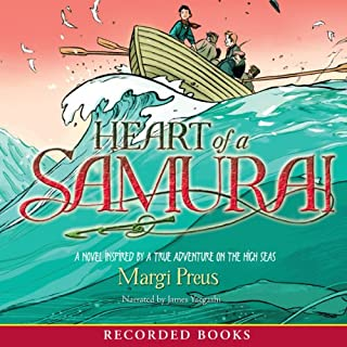 Heart of a Samurai audiobook cover art