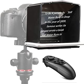 Photo Studio Accessories - Bestview Video Smartphone Teleprompter for for Canon for Nikon DSLR Camera Photo Studio for You...