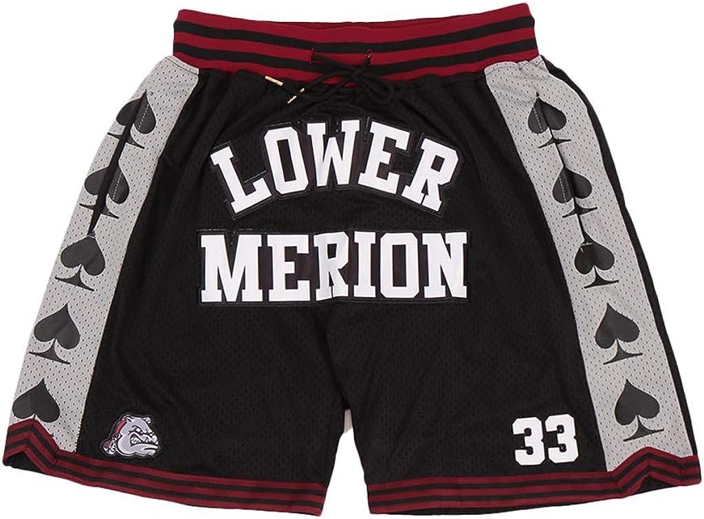 Men's Lower Merion Save money #33 service High Sports Pant Basketball Shorts School