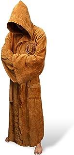 6e6013a87f Licenza Ufficiale Star Wars Accappatoio con Cappuccio in Spugna Vestaglia  Jedi