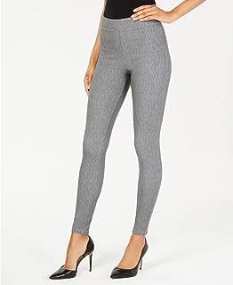HUE Soft Wool-Like Leggings (Pastel Gray, S)