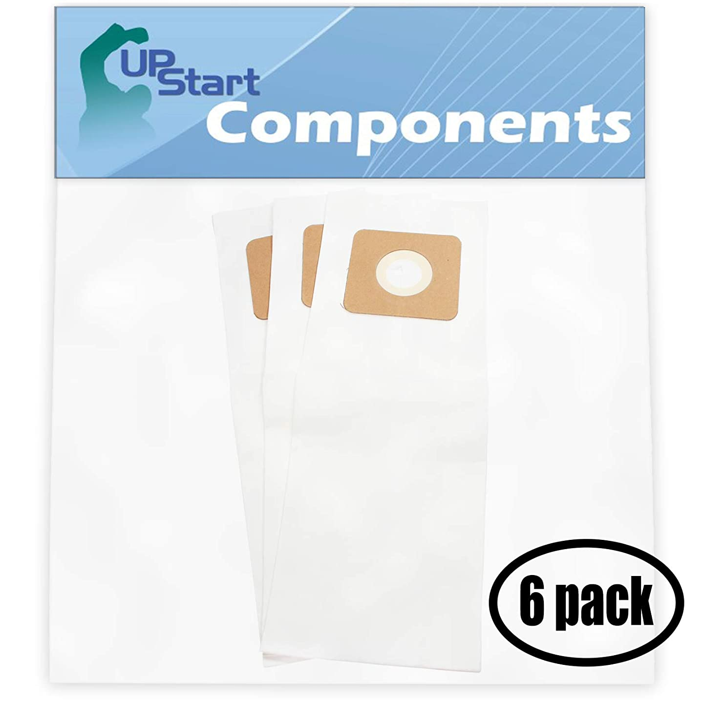 UpStart Battery 18 Replacement for Panasonic MC-6900 Vacuum Bags with 7-Piece Micro Vacuum Attachment Kit - Compatible with Panasonic Type U, U-3, U-6 Vacuum Bags (6-Pack, 3 Bags per Pack)