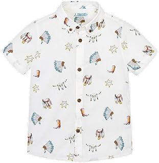a5f214cb1 Mayoral Camisa Manga Corta Estampada niño Modelo 3133
