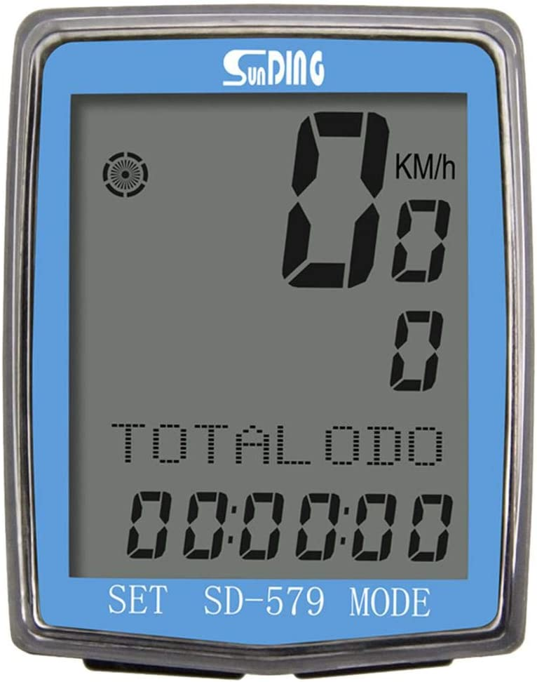 Boston Mall YARUIFANSEN Bicycle Odometer LCD Wired Lowest price challenge Backligh Display Computer