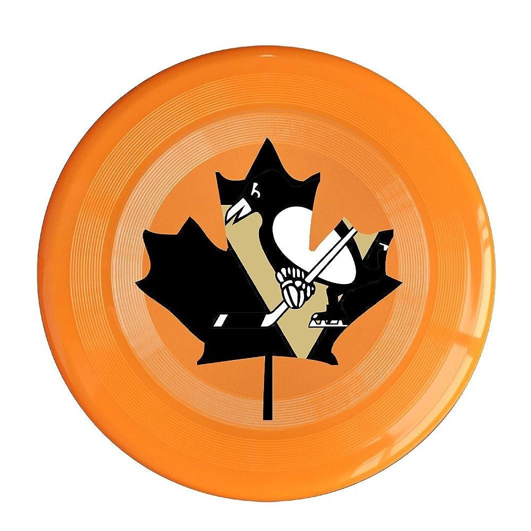 VOLTE Maple Canada Hockey Orange Flying-discs 150 Grams Outdoor Activities Frisbee Star Concert Dog Pet Toys