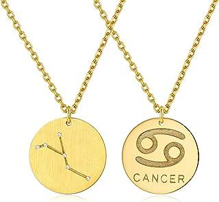 style à la mode rétro style unique Amazon.fr : signe astrologique cancer : Bijoux