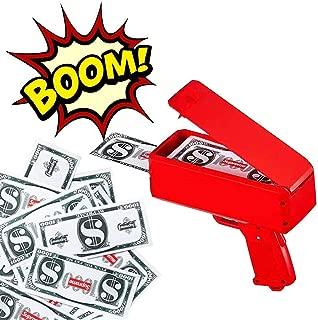Cash Money Gun Spray 50-100 Money Gun Party Celebraton Make It Rain US Dollars Active Atmosphere