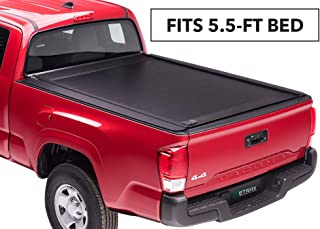 RetraxONE MX Retractable Truck Bed Tonneau Cover | 60841 | fits Tundra CrewMax 5.5' Bed with Deck Rail System (07-18)