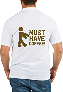 Must Have COFFEE! Zombie - Golf Shirt, Pique Knit Golf Polo