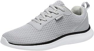 Oyedens Scarpe da Corsa Scarpe Sportive da Uomo Scarpe da Ginnastica Antiscivolo Mesh Round Breathable Running Shoes Scarp...