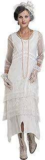 Nataya 5901 Women's Titanic Vintage Style Wedding Dress in Ivory
