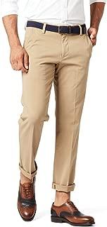 Men's Slim Tapered Fit Workday Khaki Smart 360 Flex Pants