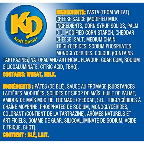 Dîner Kraft Déli-Minute Original 6 Pochettes en Portion Individuelle - 6
