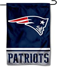 WinCraft New England Patriots Double Sided Garden Flag