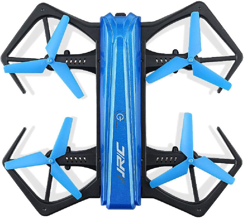 la mejor selección de ZMM RC Drone con cámara de Cuatro Ejes Aviones Aviones Aviones no tripulados fuselaje un botón Plegable 720p de Alta definición de posicionamiento aéreo Fijo 360-grado Roll Modo sin Cabeza  ventas en linea