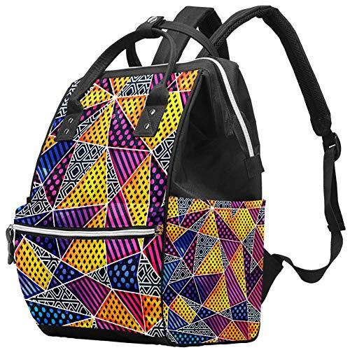 Totem borsa per pannolini zaino, morbida e multifunzione, borsa da viaggio con fasciatoio e cubetti di imballaggio