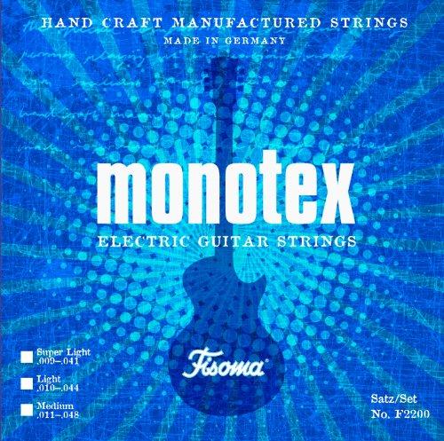 Satz FISOMA MONOTEX E-Gitarrensaiten Mittel