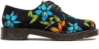 Dr. Martens Lester Canvas negro Hawaiian Floral