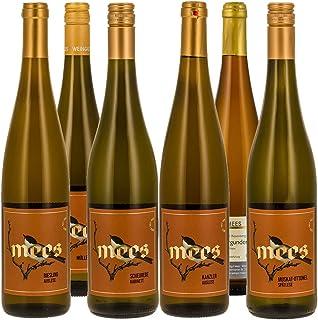 Weingut Mees WEIßWEIN LIEBLICH EDELSÜß SÜß PROBIERPAKET Prämiert Weisswein Wein süss Deutschland Nahe Set 6 x 750 ml