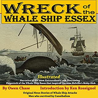 Wreck of the Whale Ship Essex  cover art