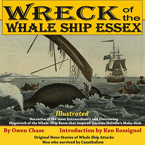 Wreck of the Whale Ship Essex audiobook cover art
