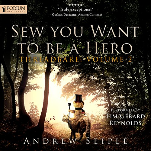 Sew You Want to Be a Hero cover art
