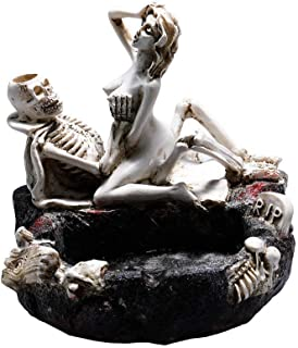 HOOKDOR Love Never Dies Ashtray Nude Funny Sexy Home Office Decorations,Gift Ashtray,Smoker (4.8INCH)