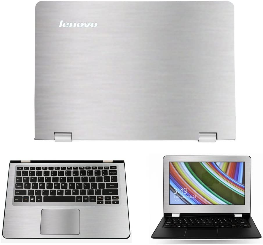 Ranking TOP12 Silver Brushed Aluminum Skin Decal Lenovo case Fle for wrap Topics on TV