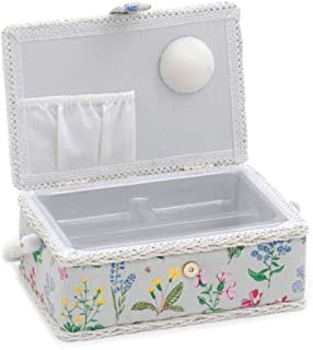 Hobby Gift Spring Garden Print Collection Small Rectangle Sewing Box