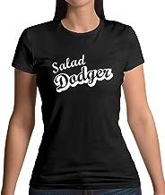 Dressdown Salad Dodger - Womens T-Shirt - Black - XXL