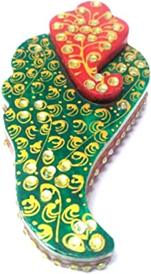 Marble Chopra Roli Sindur (Green Pan Ganesh)