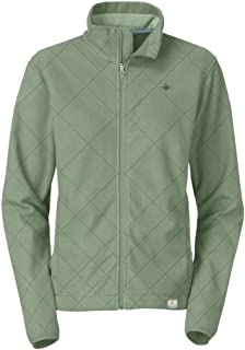 Ranger Womens Sage Brush Green Quilted Fleece Jacket - Small