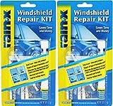 Rain-X 600001 Windshield xQyJm Repair Kit, 0.035 Oz (2 Pack)