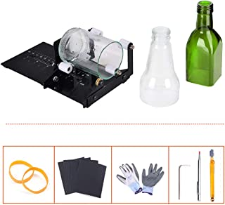 IMT Bottle Cutter, Glass Cutter Wine Bottle Cutting Tool Kit for Square/Round Bottles, DIY Machine for Cutting Beer, Liquor, Whiskey, Alcohol, Champagne
